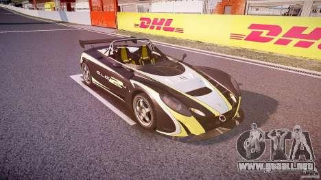 Lotus 2-11 para GTA 4 vista lateral