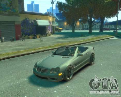 Mercedes Benz SL65 AMG para GTA 4 left