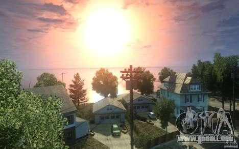 Pantallas de menú y arranque de Liberty City en  para GTA San Andreas novena de pantalla