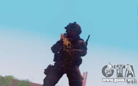 ACR con Mira holográfica para GTA San Andreas sucesivamente de pantalla