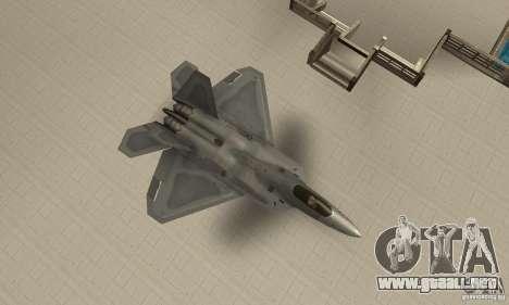 F-22 Grey para la visión correcta GTA San Andreas