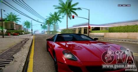 Paradise Graphics Mod (SA:MP Edition) para GTA San Andreas segunda pantalla