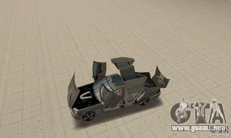 Mercedes Benz AMG S65 DUB para GTA San Andreas vista hacia atrás
