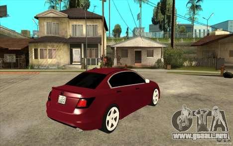 Honda Accord 2008 v2 para la visión correcta GTA San Andreas