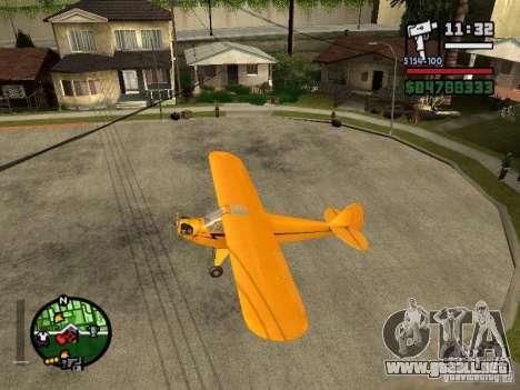 Piper J-3 Cub para GTA San Andreas