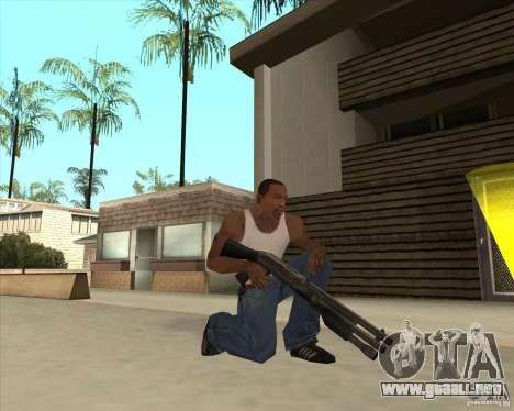 Benelli M3 Super 90 para GTA San Andreas tercera pantalla