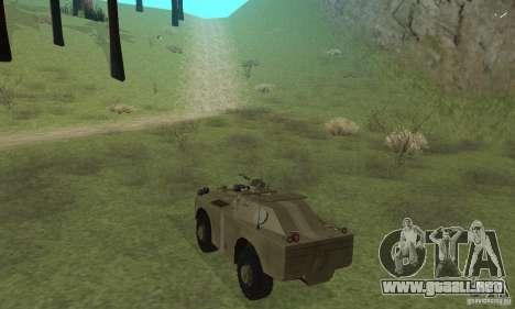 BRDM-1 piel 2 para la visión correcta GTA San Andreas