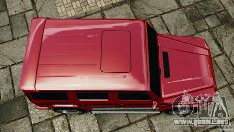 Mercedes-Benz G55 AMG para GTA 4 visión correcta