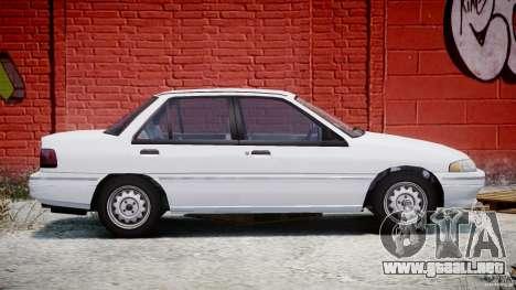 Mercury Tracer 1993 v1.0 para GTA 4 vista lateral