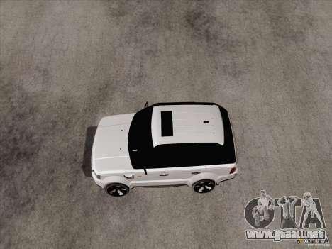 Range Rover Tuning para GTA San Andreas left
