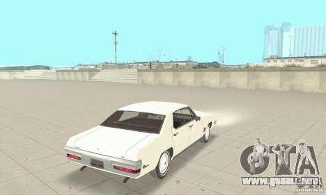 Pontiac LeMans 1971 para GTA San Andreas left
