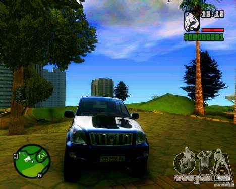 Toyota Land Cruiser Prado 120 para GTA San Andreas left
