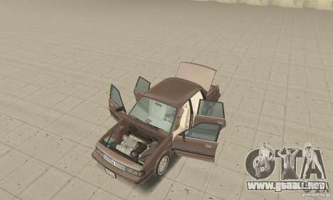Oldsmobile Cutlass Ciera 1993 para visión interna GTA San Andreas