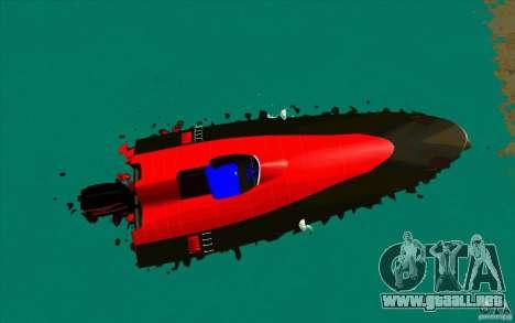 Race Boat para la visión correcta GTA San Andreas