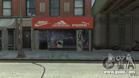 New gas station para GTA 4 sexto de pantalla