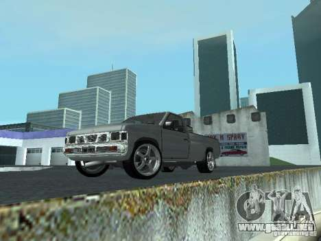 Nissan Pick-up D21 para GTA San Andreas left