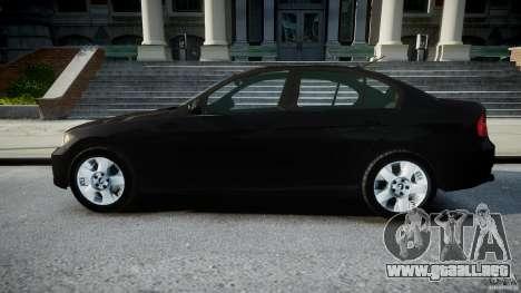 BMW 3-Series Unmarked [ELS] para GTA 4 left
