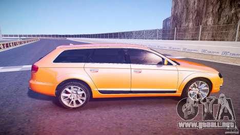 Audi A6 Allroad Quattro 2007 wheel 2 para GTA 4 vista lateral