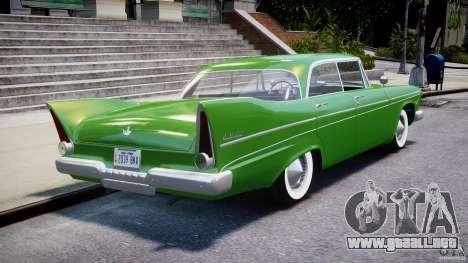 Plymouth Belvedere 1957 v1.0 para GTA 4 vista superior