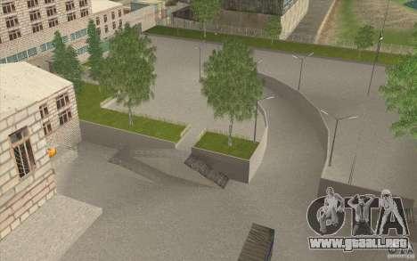 Petrolera Lukoil para GTA San Andreas segunda pantalla