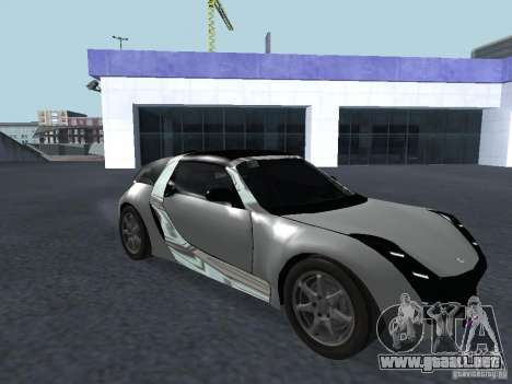 Smart Roadster Coupe para GTA San Andreas left