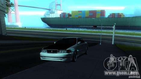 Toyota Mark II 100 para la visión correcta GTA San Andreas