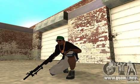 Browning M1919 para GTA San Andreas tercera pantalla