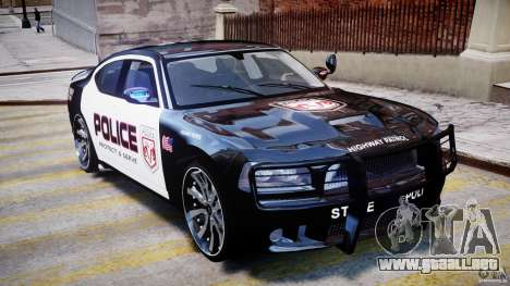 Dodge Charger NYPD Police v1.3 para GTA 4 vista superior