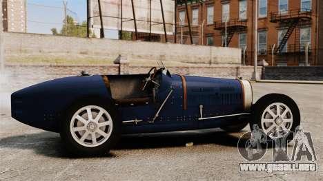 Bugatti Type 51 para GTA 4 left