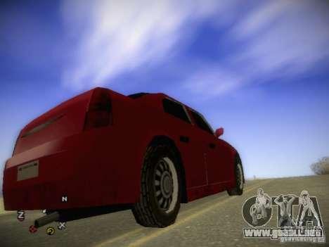 Chrysler 300C para la visión correcta GTA San Andreas
