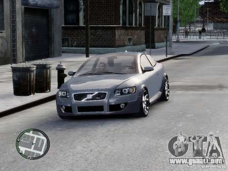 VOLVO C20 RSIGION para GTA 4 Vista posterior izquierda
