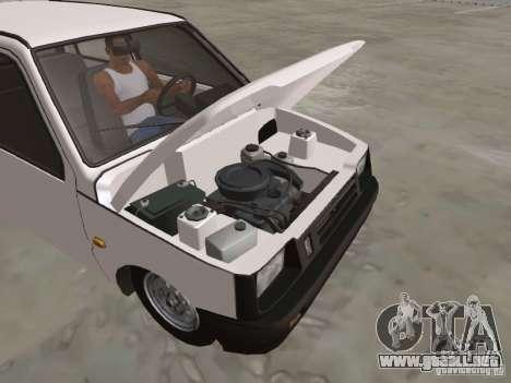 Oka VAZ 1111 para vista lateral GTA San Andreas