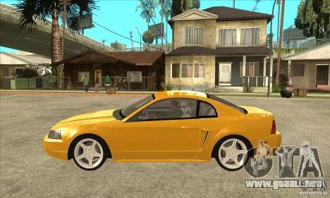 Ford Mustang GT 1999 - Stock para GTA San Andreas left