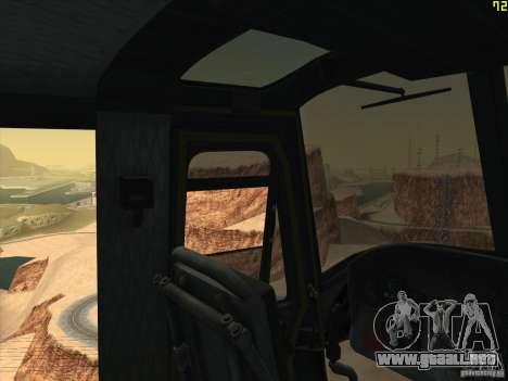 Helicóptero Huey de call of duty ops negro para la vista superior GTA San Andreas