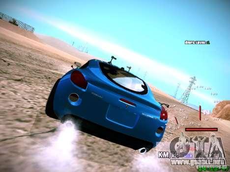 Pontiac Solstice Falken Tire para visión interna GTA San Andreas