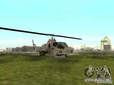AH-1 Supercobra para GTA San Andreas