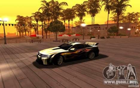 ENBSeries by RAZOR para GTA San Andreas tercera pantalla