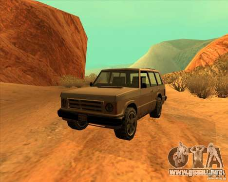 Huntley 1987 San Andreas Stories para GTA San Andreas