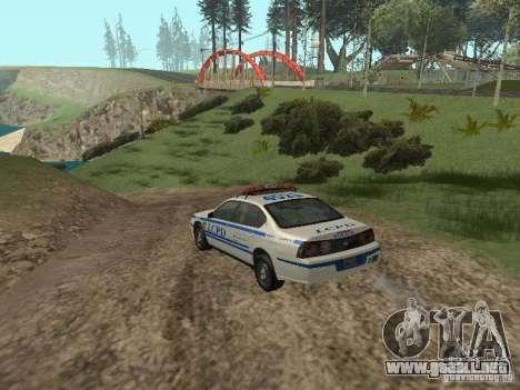 Policía de GTA 4 para la visión correcta GTA San Andreas
