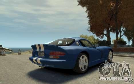 Dodge Viper GTS para GTA 4 visión correcta