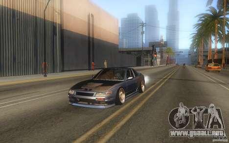 Nissan Silvia S13 Odyvia para GTA San Andreas vista posterior izquierda