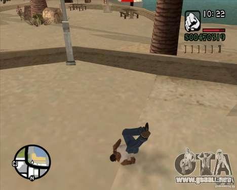 Endorphin Mod v.3 para GTA San Andreas segunda pantalla
