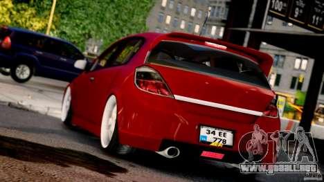 Opel Astra para GTA 4 left