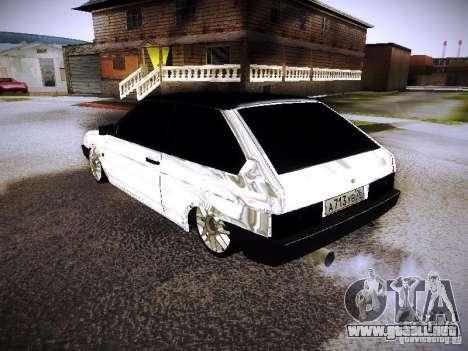 VAZ 2108 cromo para GTA San Andreas left