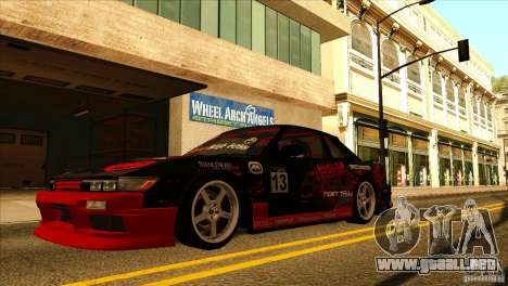 Nissan Silvia S13 MyGame Drift Team para la visión correcta GTA San Andreas