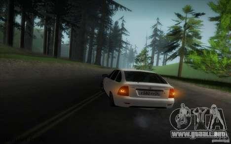 VAZ-2172 v2 para visión interna GTA San Andreas