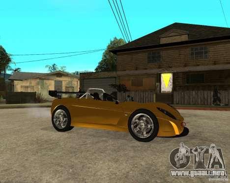 Lotus 2-Eleven para la visión correcta GTA San Andreas
