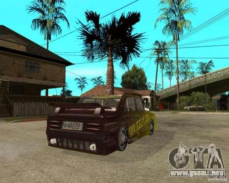 Anadol GtaTurk Drift Car para GTA San Andreas vista posterior izquierda