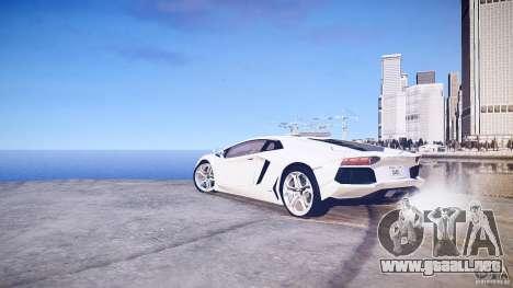 Lamborghini Aventador LP700-4 v1.0 para GTA 4 visión correcta