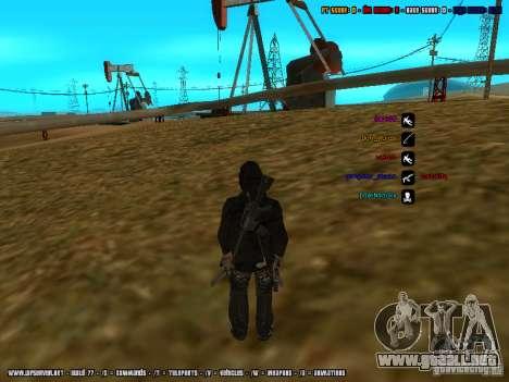 Traficante de drogas para GTA San Andreas sucesivamente de pantalla